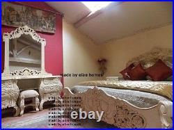 BEDROOM SET ANY (standard) SIZE, Any Color (no leaf) French ROCOCO bed