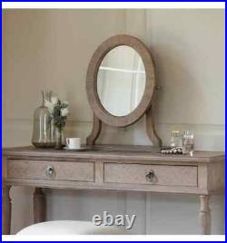 Frank Hudson French Colonial Mustique Dressing Table, Mirror & Stool