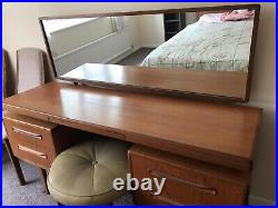 G Plan Dressing Table And Stool With Mirror