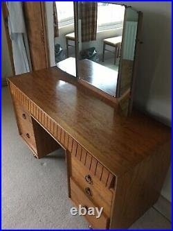 Heals mid 20th century dressing table and stool