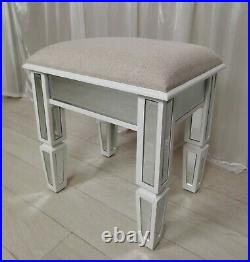 Mirrored Dressing Table Vanity Table Console CHELSEA Vanity STOOL BEDSIDE TABLE