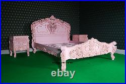 Rococo Bedroom set With Any size Any Color bed