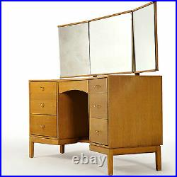 Stag Dressing Table Chest & Stool (delivery available) John & Sylvia Reid