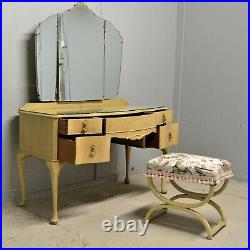 Vintage Dressing table with stool shabby chic French style delivery available
